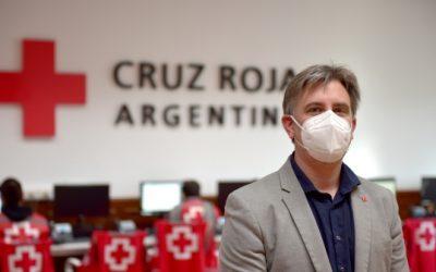 """""""Argentina nos necesita"""", la campaña solidaria de Cruz Roja junto al sector privado que batió todos los récords"""