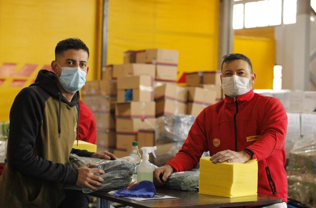 Empleados de Deutsche Post DHL apoyan iniciativas de ayuda humanitaria en tiempos de COVID-19 en las Américas