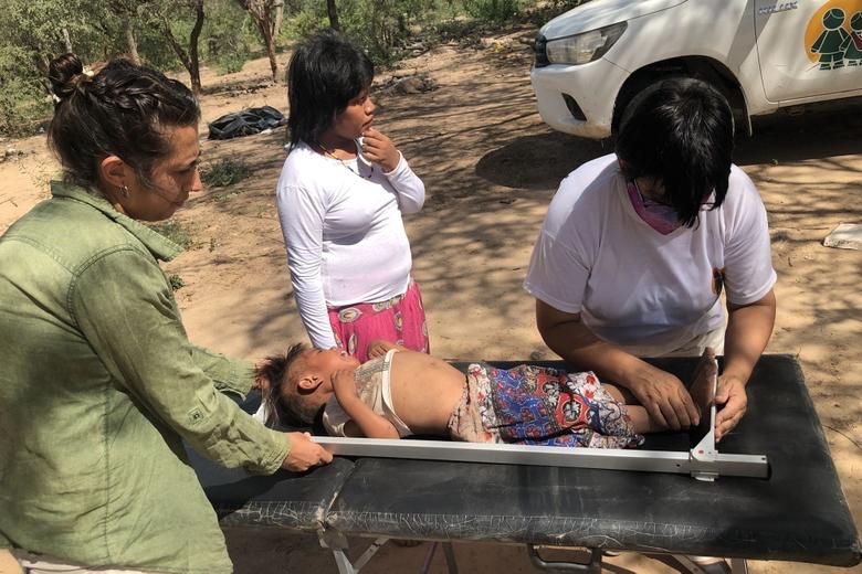 Morir de hambre y de sed: Ese es el riesgo de cada día de los chicos wichi de las comunidades de Salta